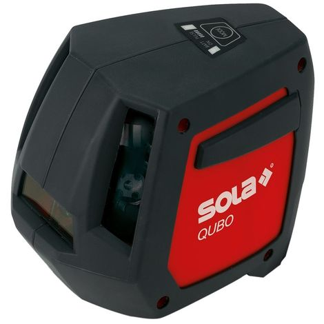 SOLA QUBOPRO - Kit profesional de nivel láser de líneas y puntos