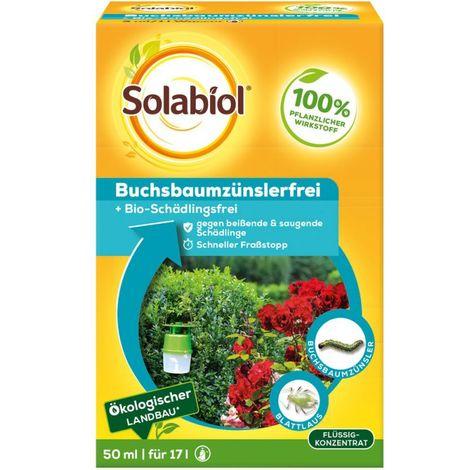 Solabiol Buchsbaumzünslerfrei 50 ml