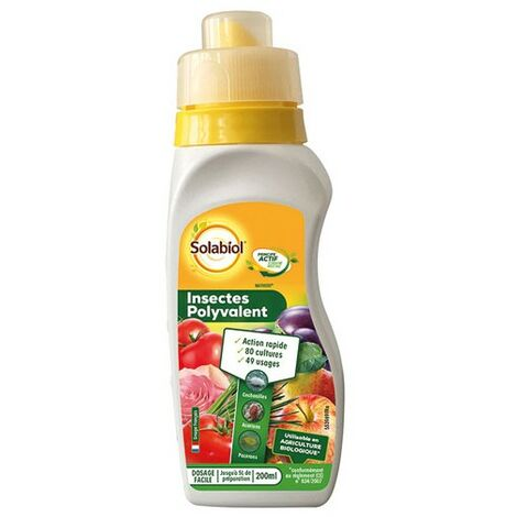 SOLABIOL - Insecticide polyvalent - 200 mL