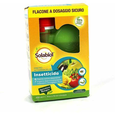 Solabiol Piretro Actigreen PFnPE Bio - 100 ML- 100% Attivo di origine naturale