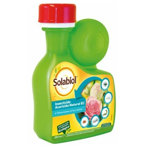 Solabiol SBM - Insecticida natural amplio espectro Acaricida Natria 250ml