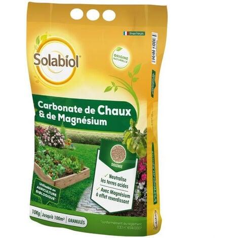 SOLABIOL SOCHAUX10 Carbonate de Chaux Et de Magnésium - 10 Kg