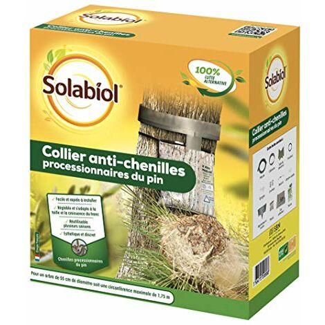 Solabiol SOCOPRO Piège à chenilles processionnaires du pin | Kit Complet avec Collier réglable, Diamètre 55 cm