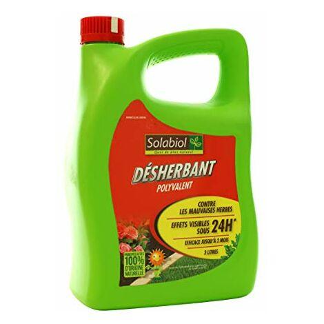 Solabiol SOHERBIOPAL3 Desherbant Polyvalent Pret-a -l'emploi 3 L, Ultra Puissant