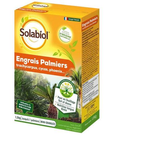 SOLABIOL SOPALMY15 Engrais Palmiers Et Plantes Méditerranéennes - 1,5 Kg
