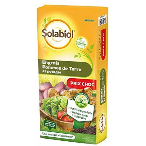 Solabiol SOPOMY12B Box Engrais Pommes De Terre Et Potager 12 Kg | Nutrition Longue durée, Puissant