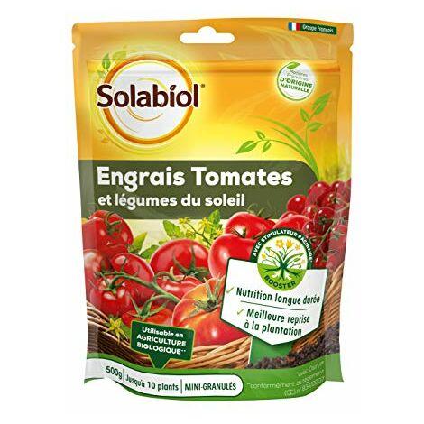 SOLABIOL SOTOMY500 Engrais Tomates Fruits 500 G | Legumes du Soleil | Nutrition Longue duree