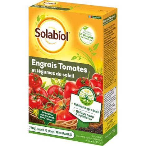 SOLABIOL SOTOMY750 Engrais Tomates et Légumes Fruits   Utilisable en Agriculture Biologique   750 g