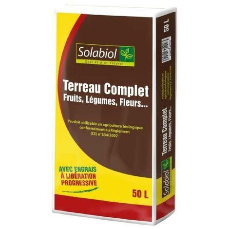 SOLABIOL TERCOMP50 Terreau Complet - 50 L