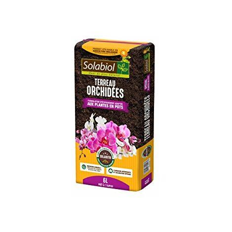 Solabiol TERORC6 Terreau Orchidees, Brun, 6 L
