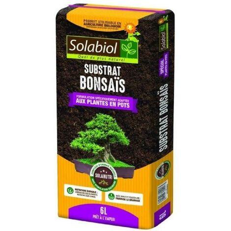 SOLABIOL - Terreau Bonsais - Sac 6 L - UAB