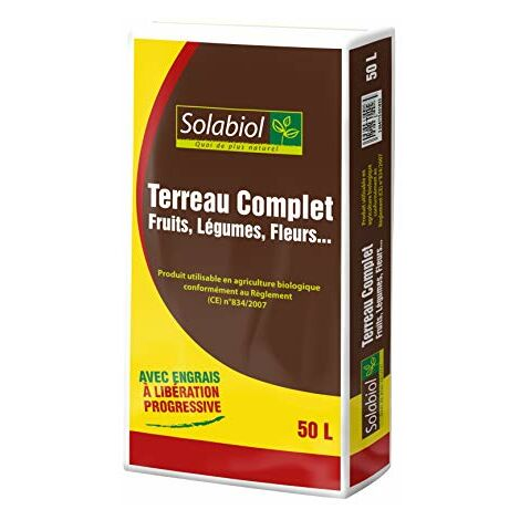 Solabiol TERREAU Complet 50 litres TERCOMP50