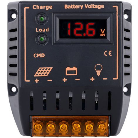 Solar charge and discharge controller 12V / 24V 10A