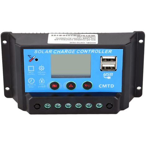 Solar Charge Controller with LCD Display 20A CMTD-2420