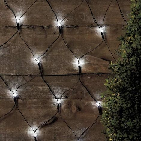 Solar christmas lights decorative net 50 led