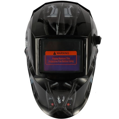Solar Energy Automatic Variable Light Welding Mask TIG Spot Welding Helmet with Adjustable Headband Knob, 10A