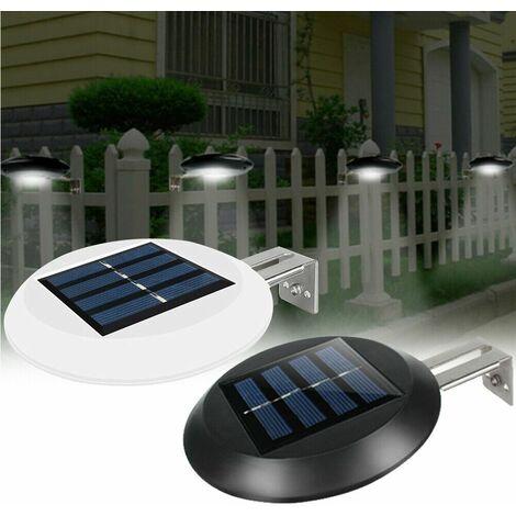 solar fence gutter lights
