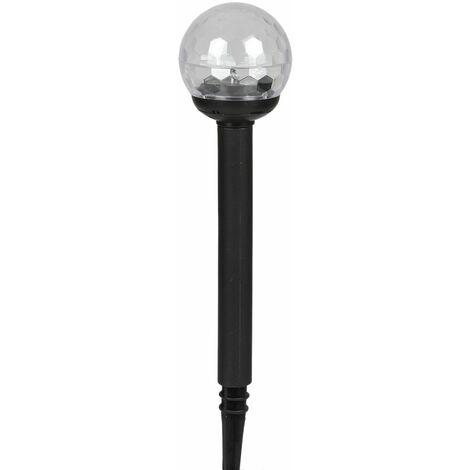 Solar-Gartenleuchte LED mit Farbwechsler 34cm Solarleuchte Gartenlampe Dekolampe