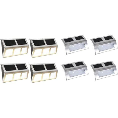 Solar Lamp Set 8 Pieces LED Lights