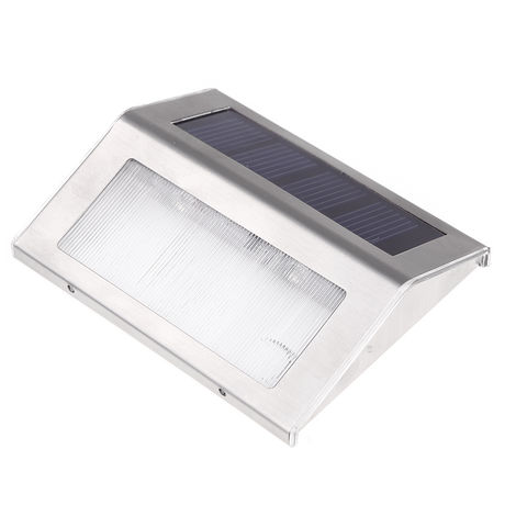 Solar Lamp With 2 LEDs