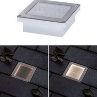 Solar LED Bodeneinbauleuchte Aron 100x100mm mit Bewegungsmelder EEK A+ [Spektrum A++ bis E]