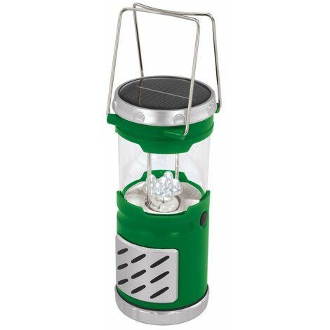 Solar LED linterna de luz de camping al aire libre Jardín portátil luz verde Eglo 47895