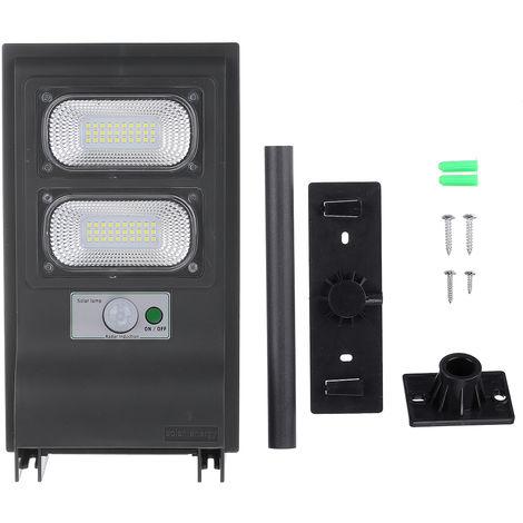 Solar LED Street Light Motion Sensor Remote Wall Lamp