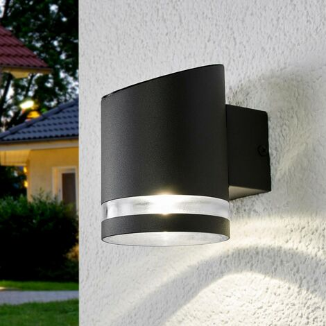 Solar outdoor wall light Melinda with LED