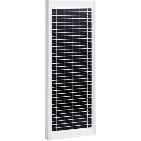 Solar Panel 10 W Polycrystalline Aluminium and Safety Glass