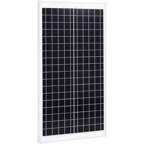 Solar Panel 30 W Polycrystalline Aluminium and Safety Glass