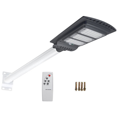 Solar PIR Radar Sensor LED Wall Light + 120W Pole