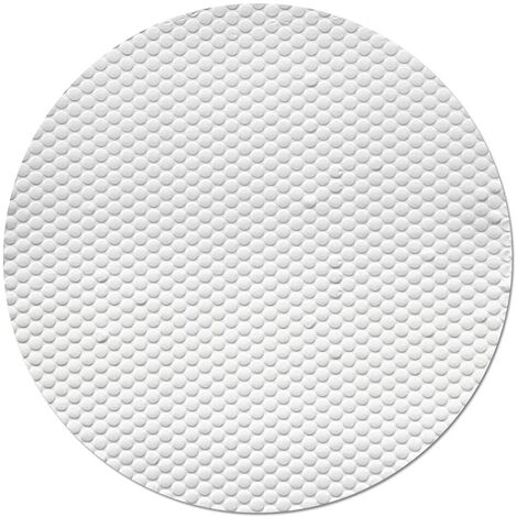"""main image of """"Solar Pool Cover for 8ft Inflatable Fast Set Paddling Swimming Pools, Round White Pool Covers for Above Ground Pools, Protection Cover Heat Insulation Film for Pool"""""""