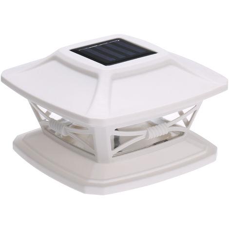 Solar Post Lights Garden Landscape Lamp IP44 Water-resistant Fits 4x4 or 6x6 Posts