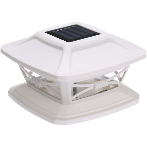 Solar Post Lights Garden Landscape Lamp IP44 Water-resistant Fits 4x4 or 6x6 Posts