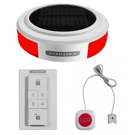 Solar Powered 3G GSM Ultralarm Water Alarm