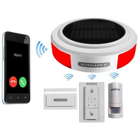 Solar Powered 3G Ultralarm - No SIM Card Thank You [007-3000]