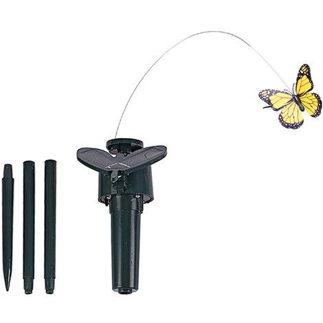 Solar Powered Dancing Fluttering Butterflies Flying Humming Bird Garden Yard Decoration