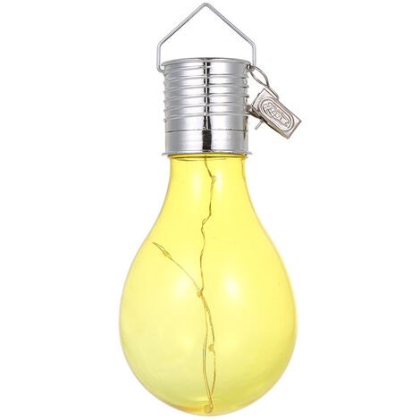 Solar Powered Energy-saving Bulb Light Hanging LED Lamp with Clip Lighting Control IP44 Water-resistant
