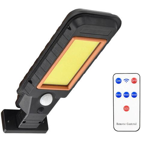 Solar sensorizacion la lampara de pared IP65 Tres modos de iluminacion, 128COB con el regulador