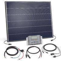 Solar Set 150W Bausatz 12 Volt Solaranlage Inselanlage Camping, esotec 120056