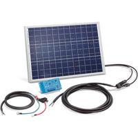 Solar Set 20W Bausatz 12 Volt Solaranlage Inselanlage Camping, esotec 120020