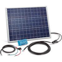 Solar Set 50W Bausatz 12 Volt Solaranlage Inselanlage Camping, esotec 120024
