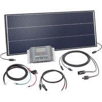 Solar Set 75W Bausatz 12 Volt Solaranlage Inselanlage Camping, esotec 120050