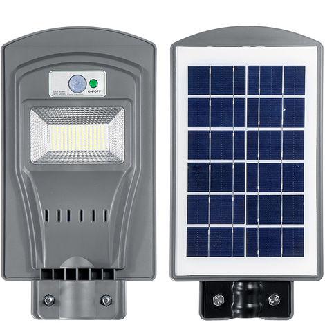 Solar Street Light Induction Garden Lamp Solar Sensor Remote Control