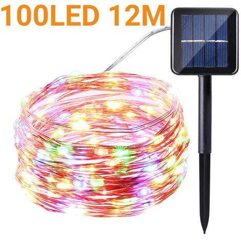 Solar String Light Copper Wire Waterproof Decor