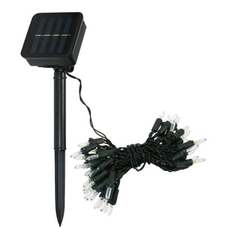 Solar String Lights 23ft 50 LED Rope Light 8 Modes Lights for Party Garden Home Festival Decoration