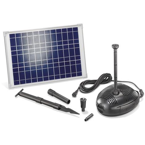 Solar Teichpumpe Rimini S 2W 175l//h Solarpumpe Gartenteich Teich esotec 101701