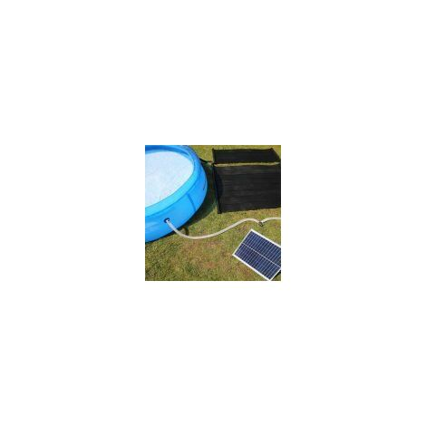 """main image of """"Solar Thermal Water Heater Mat Pump and 20W Solar Panel Kit"""""""