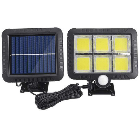 Solar Wall Light Human Body Induction Wall Lamp Outdoor IP65 Courtyard Light