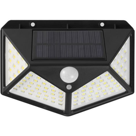 Solar Wall Light Motion Sensor Light Human Body Induction Lamp Outdoor Lighting IP65 Water-resistant